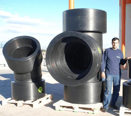 Yüksek Kalınlıklı HDPE T Boru