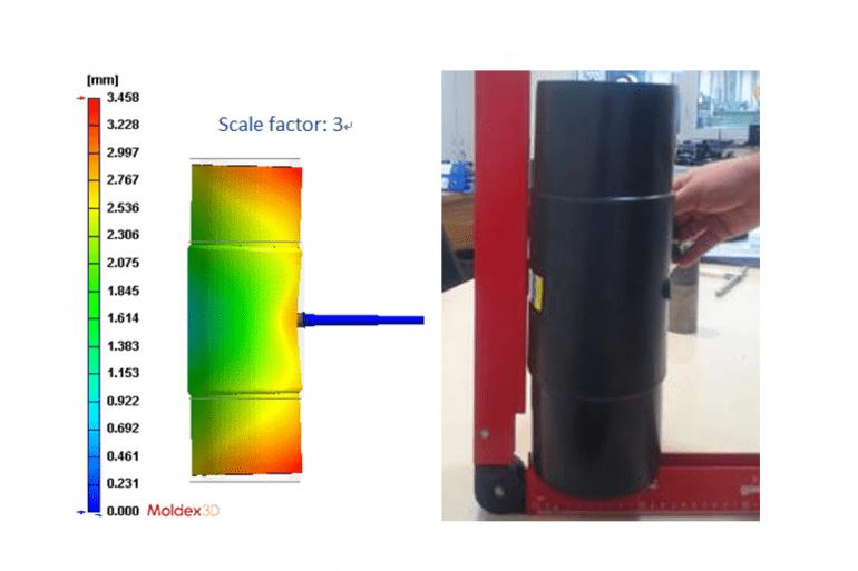 Plastik Enjeksiyon Ürün Tasarımında Yüksek Et Kalınlığının Getirdiği 2 Enjeksiyon Problemi ve Moldex3D Çözümleri