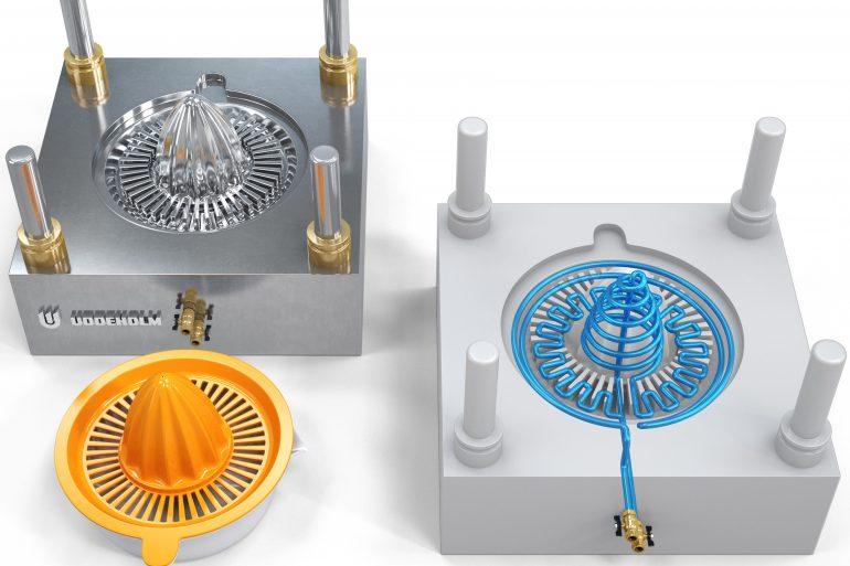 """Moldex3D """"Konformal Soğutma Teknolojisi"""" ve Enjeksiyon Kalıplarınıza Faydaları"""
